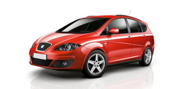 SEAT Altea or similar 1600cc A/C